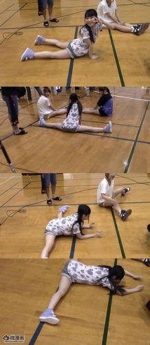 柔术美女劈叉视频 美女极限柔术